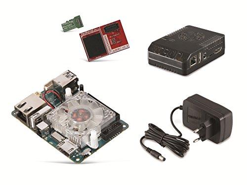 ODROID-XU4-Set mit 16GB eMMC Modul, Gehäuse und Netzteil Einplatinencomputer,Hardkernel, Mini Server, Mini PC, Server, Einplatinen Board, Selbstbau PC - Gehäuse-set