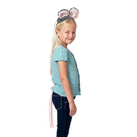 Costume Rat - Déguisement Gris Souris pour les enfants. Queue