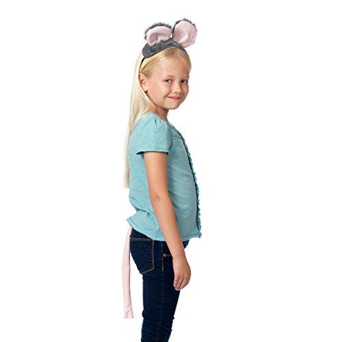 Maus Ohren Und Schwanz Für Kinder 3+ (Ohren Ratte Kostüm)