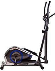 TechFit E410 Cross Trainer, Bicicleta elíptica para el hogar, Máquina de Cardio para Ejercicios de Fitness, Dispositivo de Resistencia magnética Apta para Espacios Interiores