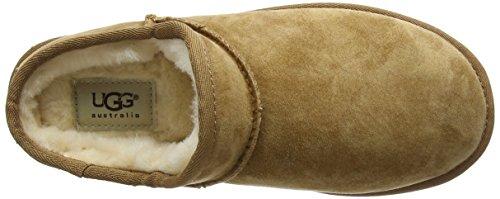 UGG Classic Slipper Pantofole A collo alto, Donna Chestnut