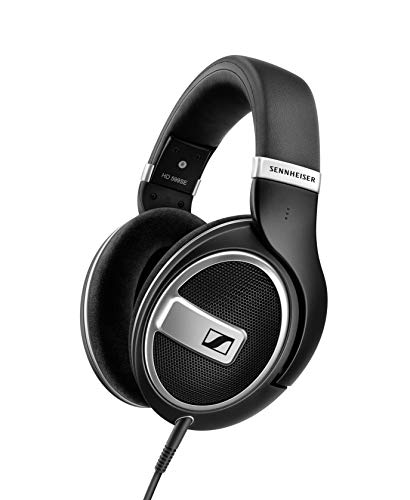 Sennheiser HD 599 Special Edition, Open Back Audiophile Headphone, Black