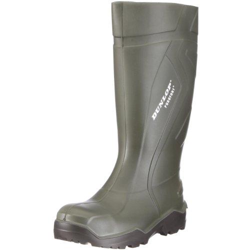 Dunlop S3 Gummistiefel PUROFORT DU762943 Herren Stiefel mit Stahlkappe, grün (groen) EU 46