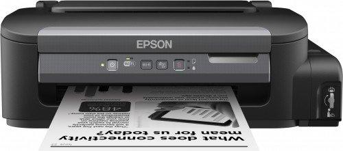 Epson Workforce M105 - Tintenstrahldrucker (5000 Seiten pro Monat, 1440 x 720 DPI, Schwarz, 34 Seiten pro Minute, 100 Blätter, A4) -