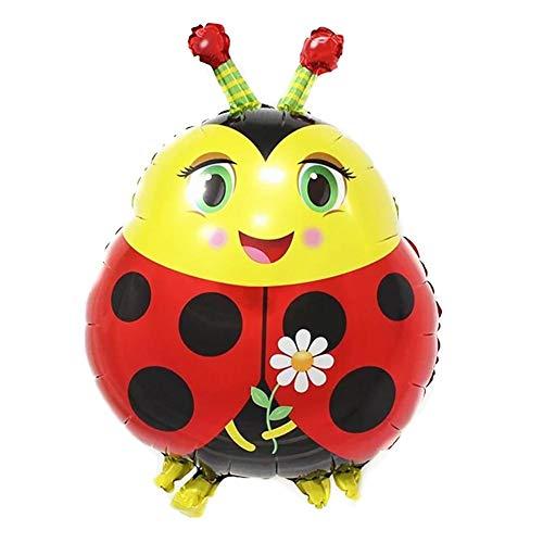 ty Dekoration Luftballons Insektenserie Marienkäfer Ballon Spielzeug für Kinder ()