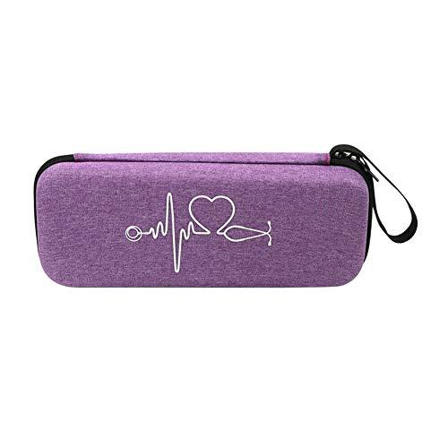Xingsiyue Stethoskop Lagerung Hülle für 3M Littmann Classic III/Cardiology IV und Krankenschwester Zubehör - Hart Schützend Tasche mit Weiche Schicht