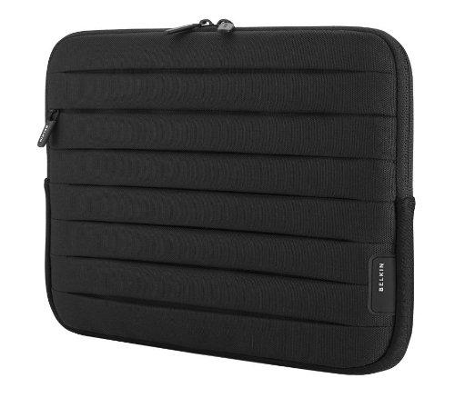 Preisvergleich Produktbild Belkin Plissee-Schutzhülle (für Netbooks bis zu 25,4cm (10 Zoll)) schwarz