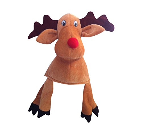 Fancy Dress Reindeer Hat with Legs And Antlers by Creative (Up Weihnachten Für Dressing)