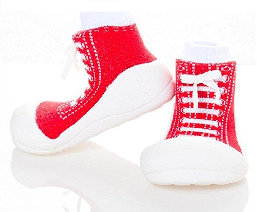 Attipas , {Chaussures premiers pas pour bébé (garçon) Rouge Rouge 21.5 rouge
