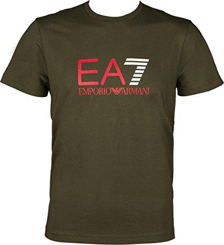 EA7 Emporio Armani MAN JERSEY T-SHIRT 6YPTC0PJH7Z-1852 Herren T-Shirt (M, ) (Emporio Armani-jersey-t-shirt)