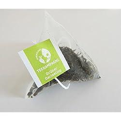 Teekampagne - Grüner Tee, 50 x 2g Teebeutel, Darjeeling Blatt-Tee, Biologischer Anbau (kbA), Finest Tippy Golden Flowery Orange Pekoe (FTGFOP1)
