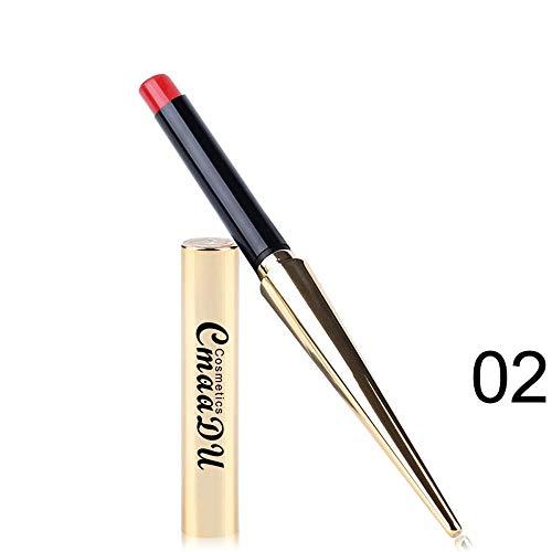Dtuta Lippenstift Billig Lippenpflege Lippglosse Matt Dunkel Rot Metallflasche Mehrfarben Optional