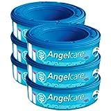 Angelcare - Cubo de basura para pañales y recambios, color blanco (AC1106)