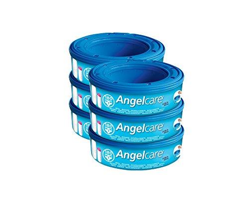 Preisvergleich Produktbild Angelcare Windeleimer Nachfüllpack 6er Pack 2770