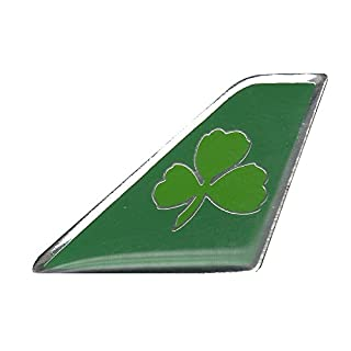 ACI Collectables Aer Lingus Shamrock Tail Pin Badge
