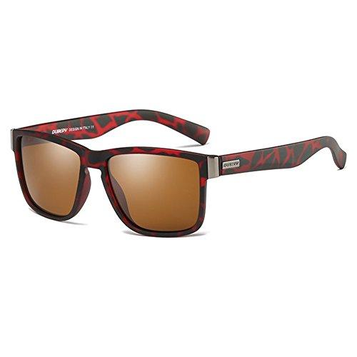 FairOnly HD-polarisierte Sonnenbrille, die Gläser beschichtet Ultraviolett-Proofing-Sport-Radfahren-Schutzbrillen Geschenk Ornament Nummer 4 D518