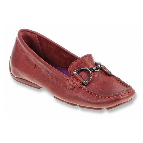 Hush Puppies Cora Slip-on Loafer Red Leather