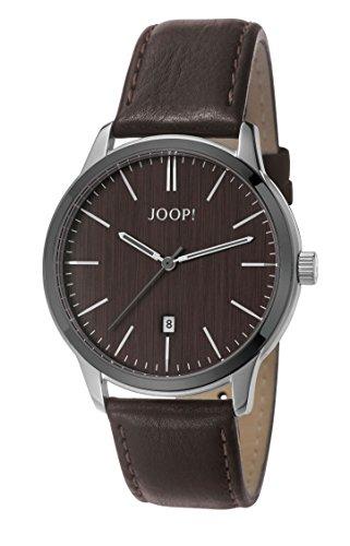 Joop. Timewear Men's Quartz Watch with Black Dial Analogue Display Quartz Leather JP101821003
