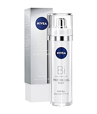 NIVEA PROFESSIONAL Bioxilift Day Cream SPF 15 (1x 50 ml), Collagen Day Cream for the Face & Décolleté, Anti-Ageing Cream to Soften Wrinkles & Firm Face Contours, Anti-Wrinkle Cream with Sun Protection by Beiersdorf Ag