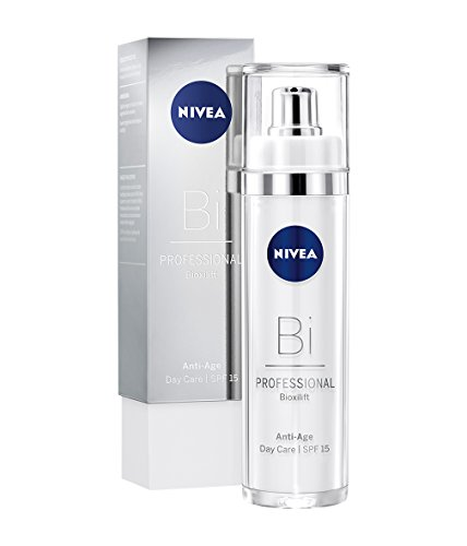 NIVEA PROFESSIONAL Bioxilift Tagespflege LSF 15, Collagen Tagescreme fürs Gesicht, Anti-Aging...