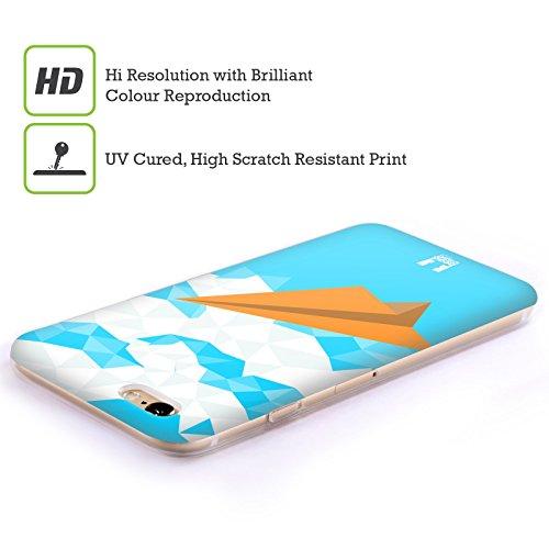 Head Case Designs Renard Origami Étui Coque en Gel molle pour Apple iPhone 5c Avion De Papier