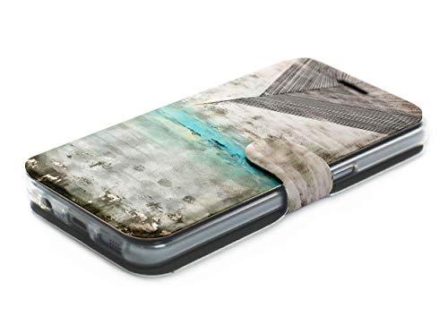 MOBIWEAR Book Style Handy Motiv Tasche Flip Case Cover Hülle für ASUS Zenfone Zoom S ZE553KL - MF06S