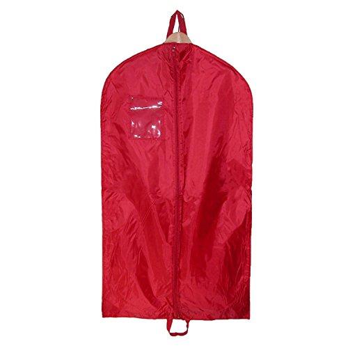 Sacs de Liberty Nylon Garment Sac avec poignées doubles, rouge