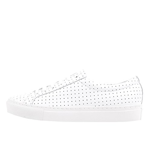 rockamora-louis-chaussures-en-cuir-low-w-blanc-blanc-perforated-40