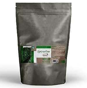 Spiruline bio en poudre 500 grammes