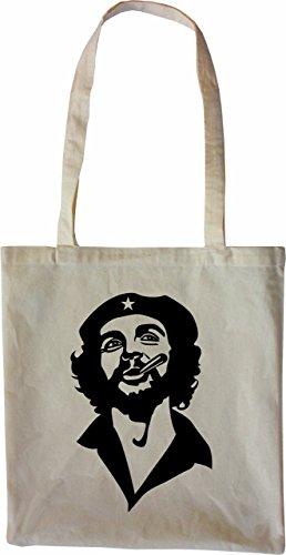 Mister Borsa Di Merchandise Che Ernesto Borsa Di Tela Guevara, Colore: Nero Natura