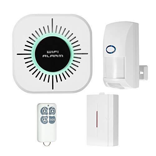 CutogainWireless WiFi Burgla Alarm Systems Anti-Haustier-Interferenzmelder für Smart Home - Start Starter Smart Remote