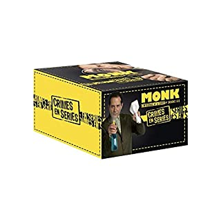 Coffret intégrale monk, crimes en série, saisons 1 à 8 [FR Import]