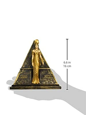 Design Toscano Egyptian Goddess Isis Pyramid Treasure Box Sculpture