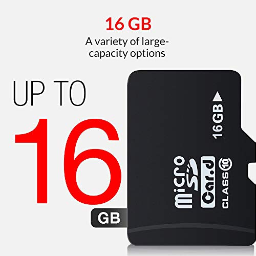 16GB Speicherkarte Micro SD Karte 16GB SD HC Class 10 mit Adapter for Mobile Phone, Tablet PC, Camera, Car DVR, Mac and MP3 Players (Mp3-player Für Den Mac)