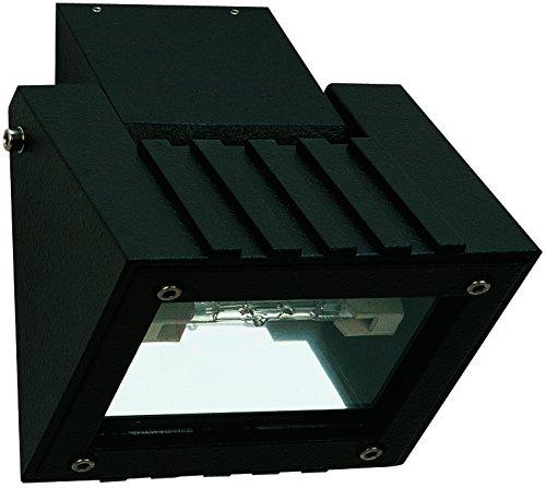 Albert 662410 außenwand Spot, aluminium, Integrated, noir