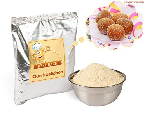 arkbällchen, Fertigbackmischung für Krapfen, Teig-Mix, Quarkbällchen-Teig (5 kg) ()