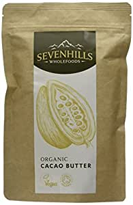Sevenhills Wholefoods Organic Cacao / Cocoa Butter, Wafers, 150g