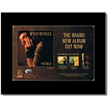 WILLY DEVILLE - Pistola Matted Mini Poster - 21x13.5cm