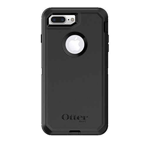 OtterBox 77-56825 Serie Defender Custodia per Apple iPhone 8+, Nero