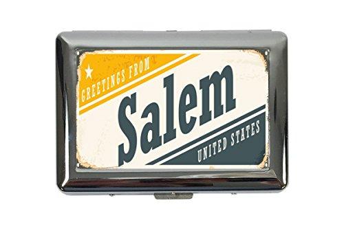Zigarettenetui Box Stadt Salem USA Bedruckt
