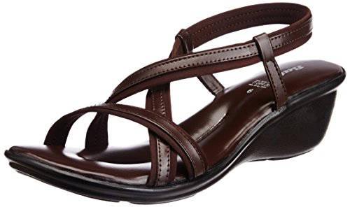 BATA Women's New Brown Fashion Sandals - 5 UK/India (38 EU) (6614155)