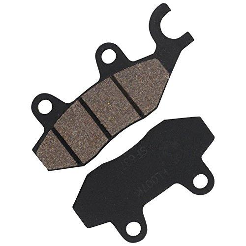 xfight de parts Plaquettes de droite avec Cul/ée pour double piston de frein Pince a 96.6/x 41.9/x 9/mm B 76.9/x 41.9/x 9/mm