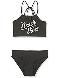 New Look 915 Beach Vibes High Neck, Bikini para Niños