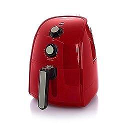 Simply Ming The Healthy Fry Ceramic Nonstick 1500-Watt Air Fryer - Red