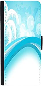 Snoogg Abstract Summer Background Designer Protective Phone Flip Case Cover For Phicomm Energy 653 4G