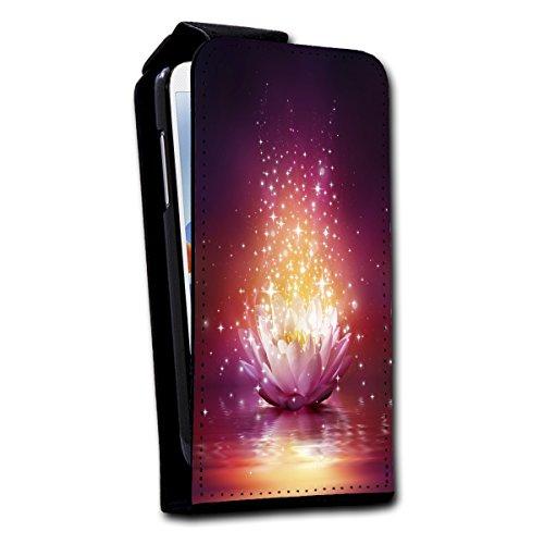 Flip Style vertical Housse Case Coque Photo Motif Étui pour Apple iPhone 4/4S Design au choix–Sélection V4, Design 6 (marron) - SB-Vertikal V4 Design 1
