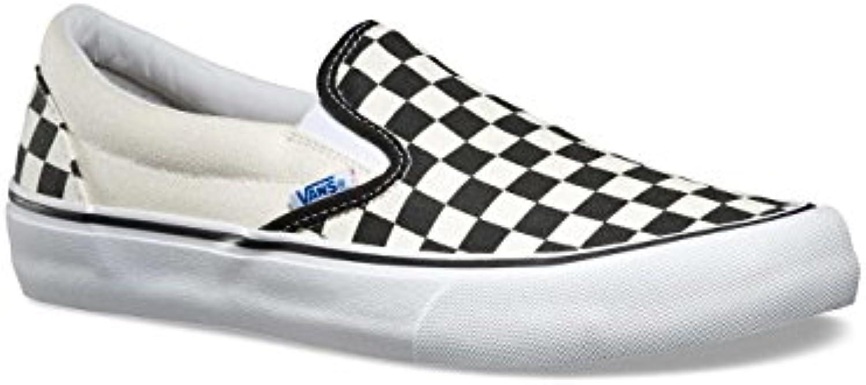 Vans Slip On Pro '82 50th Canvas White/Black Checkerboard 11uk  -