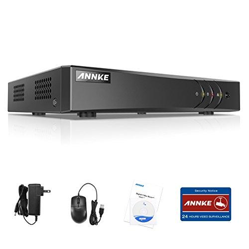 ANNKE 1080P Lite DVR Recorder, 8 Kanal 5 IN 1 720P Digital Video Recorder H.264+ für Videoüberwachung, Bewegungserkennung, Online-Fernzugriff (8CH)