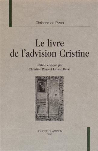 Le livre de l'advision Cristine