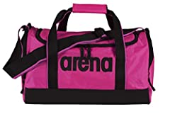 Idea Regalo - Arena Spiky 2 Medium Borsa Sportiva, Unisex adulto, Rosa (Fuchsia), Taglia Unica